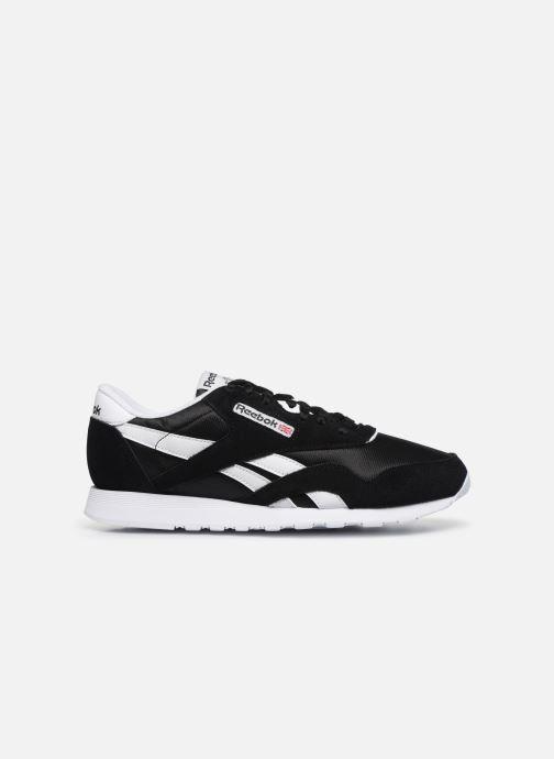 Sneaker Reebok CL NYLON M schwarz ansicht von hinten