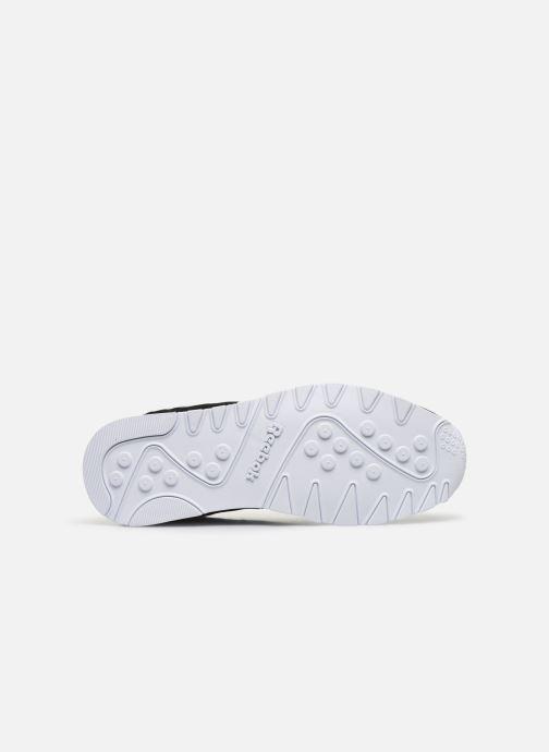 Sneaker Reebok CL NYLON M schwarz ansicht von oben