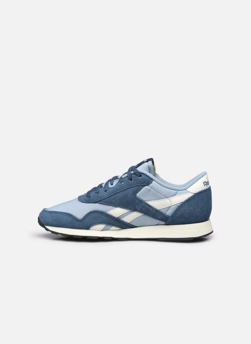 Sneaker Reebok CL NYLON M blau ansicht von vorne