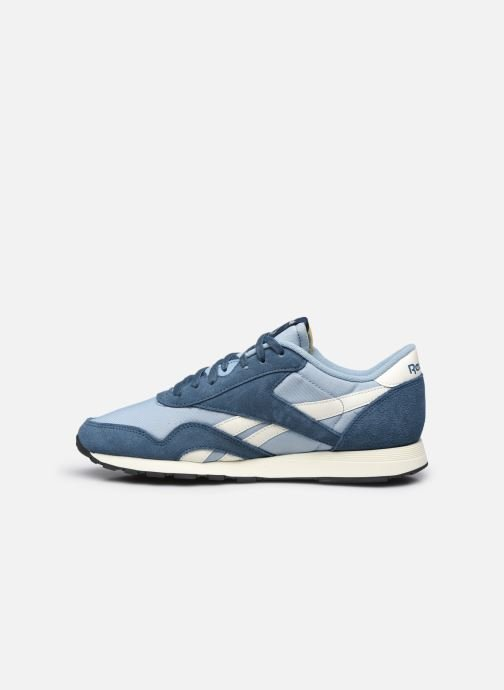 Sneakers Reebok CL NYLON M Blauw voorkant