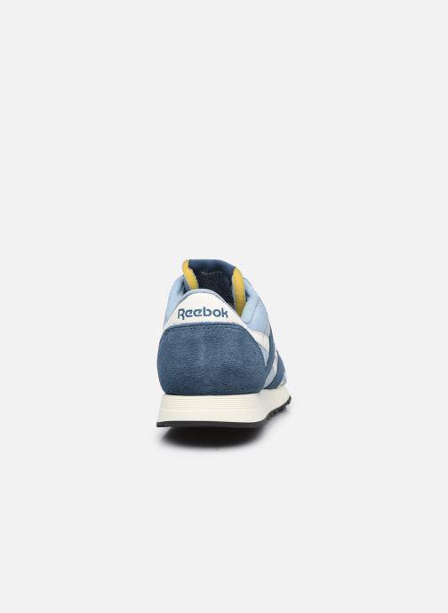 Sneaker Reebok CL NYLON M blau ansicht von rechts
