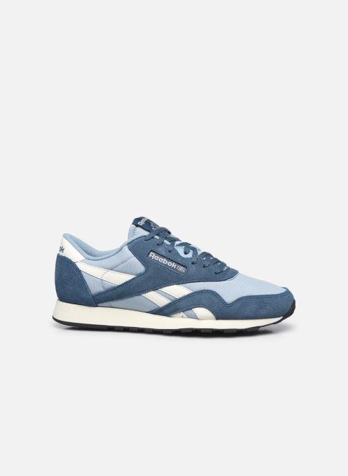 Sneaker Reebok CL NYLON M blau ansicht von hinten