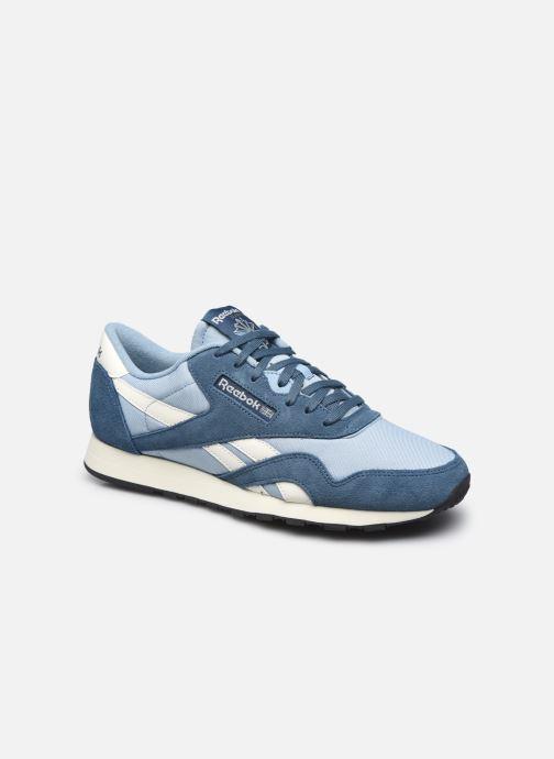 Sneakers Reebok CL NYLON M Blå detaljeret billede af skoene