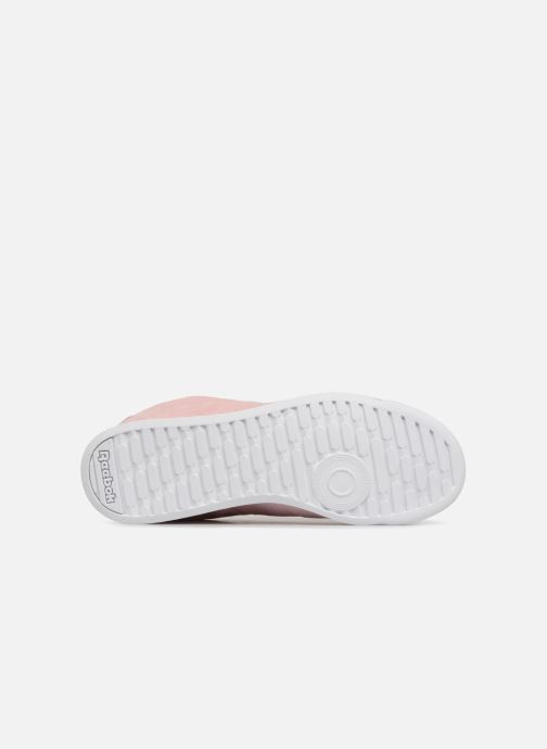 Trainers Reebok PRINCESS LTHR Pink view from above