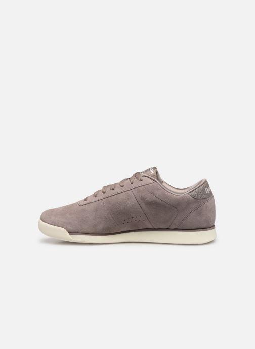 Sneakers Reebok PRINCESS LTHR Paars voorkant
