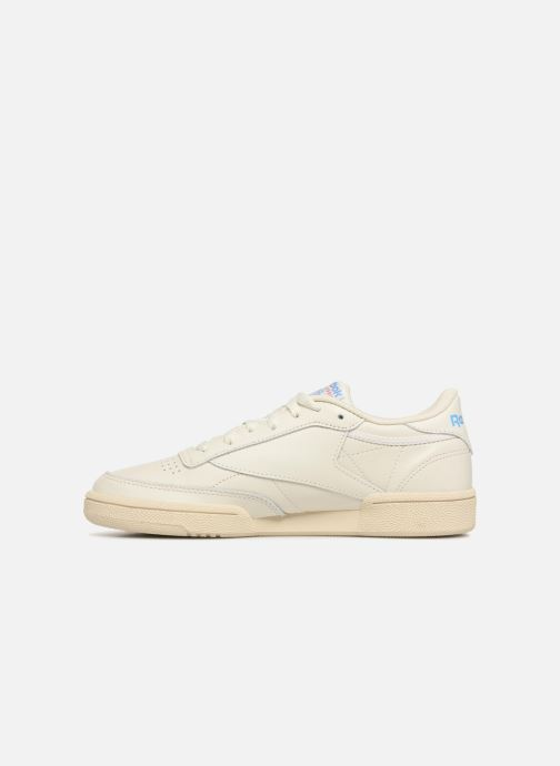 Baskets Reebok Club C 85 1 Blanc vue face