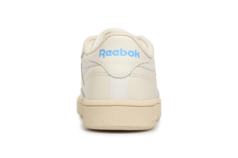 85 1 chalk Reebok C Paper Club Athletic Wht Vintage Blue Ex tqwUEw