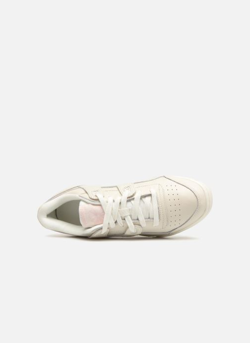 Trainers Reebok WORKOUT LO PLUS White view from the left