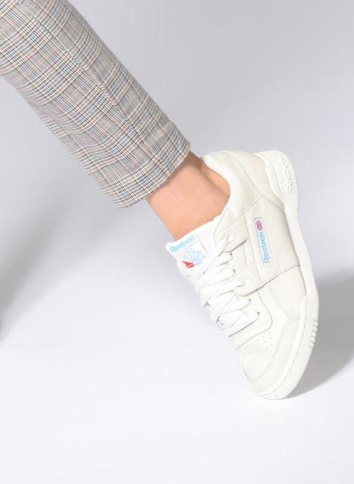 Sneakers Reebok WORKOUT LO PLUS Bianco immagine dal basso