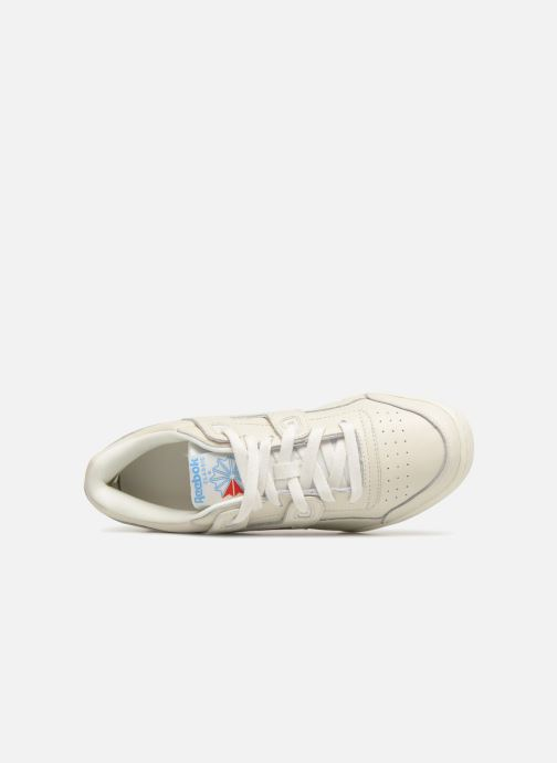 Sneakers Reebok WORKOUT LO PLUS Bianco immagine sinistra