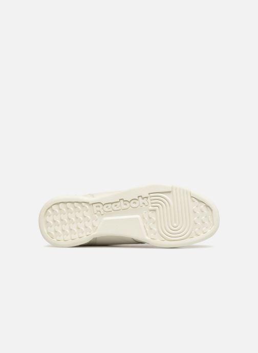 Sneakers Reebok WORKOUT LO PLUS Bianco immagine dall'alto