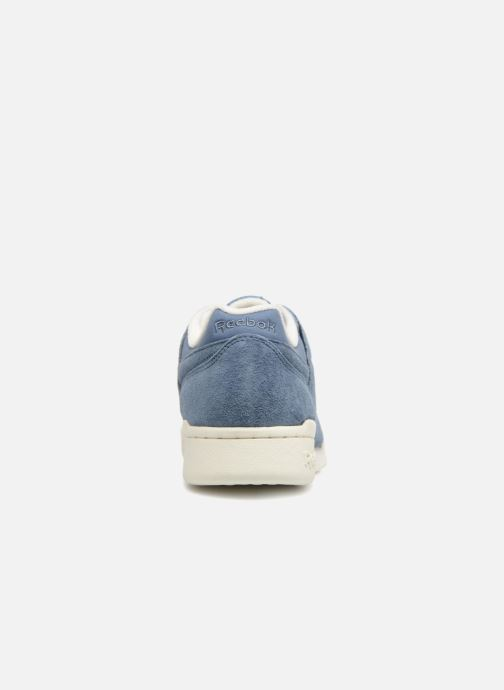 Trainers Reebok WORKOUT LO PLUS Blue view from the right