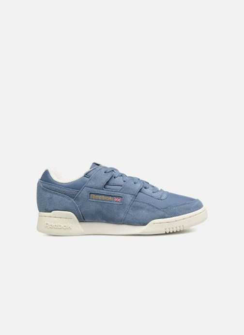 Trainers Reebok WORKOUT LO PLUS Blue back view