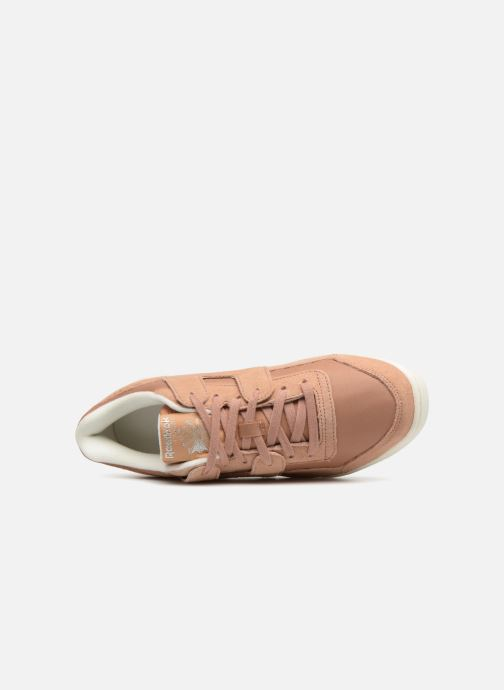 Trainers Reebok WORKOUT LO PLUS Brown view from the left