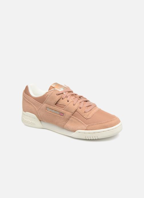Trainers Reebok WORKOUT LO PLUS Brown detailed view/ Pair view