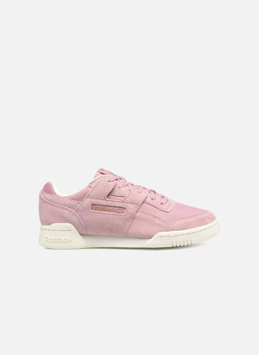 Trainers Reebok WORKOUT LO PLUS Pink back view