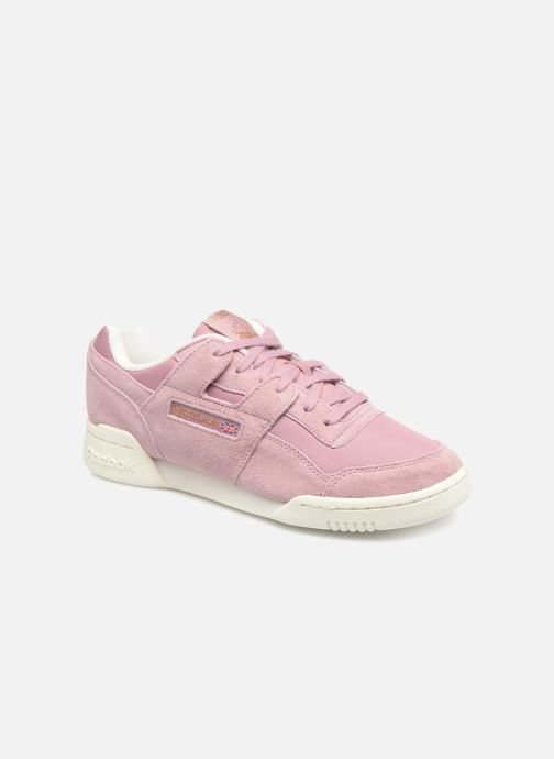 Trainers Reebok WORKOUT LO PLUS Pink detailed view/ Pair view