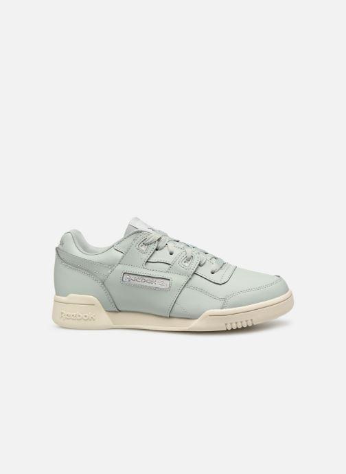 Sneaker Reebok WORKOUT LO PLUS blau ansicht von hinten