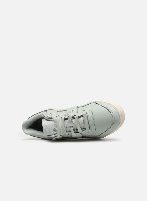 Sneaker Reebok WORKOUT LO PLUS blau ansicht von links