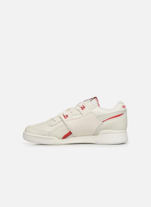 Sneakers Reebok WORKOUT LO PLUS Wit voorkant