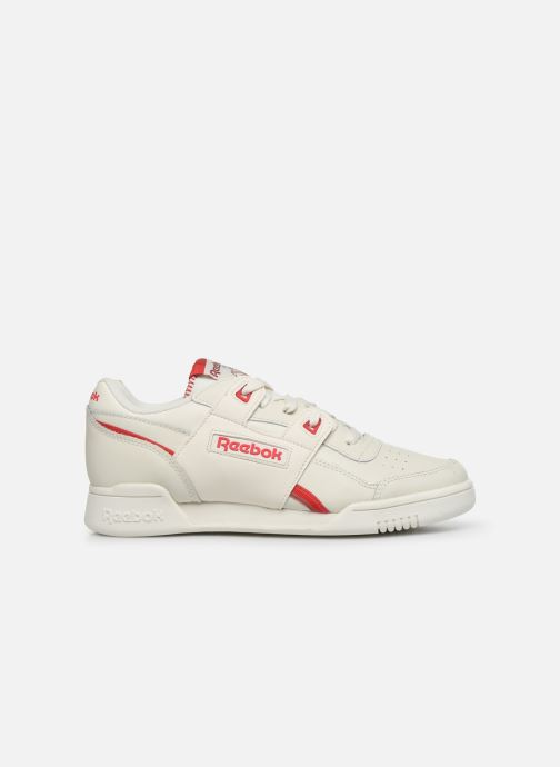 Sneakers Reebok WORKOUT LO PLUS Wit achterkant