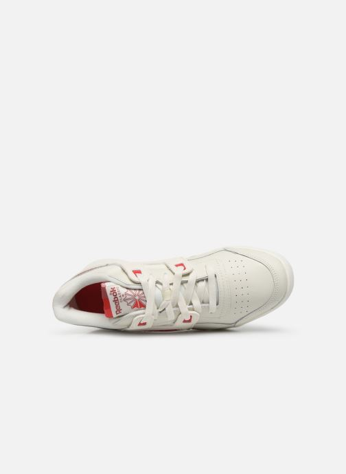 Baskets Reebok WORKOUT LO PLUS Blanc vue gauche