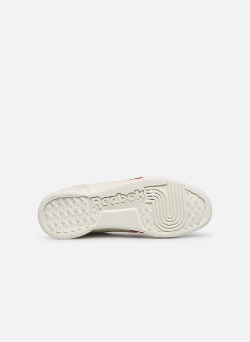 Baskets Reebok WORKOUT LO PLUS Blanc vue haut