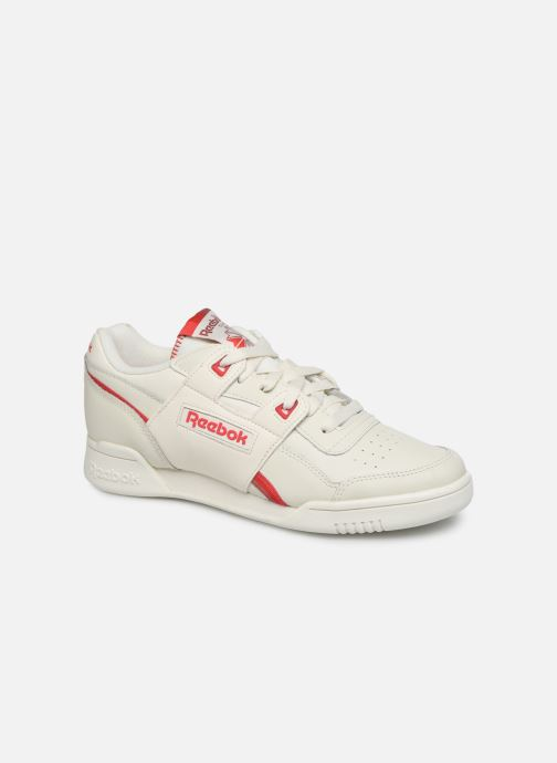 Baskets Reebok WORKOUT LO PLUS Blanc vue détail/paire