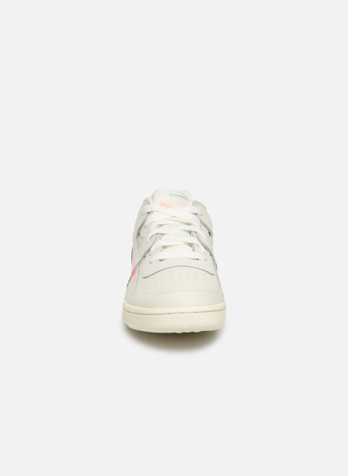 Sneakers Reebok WORKOUT LO PLUS Beige modello indossato