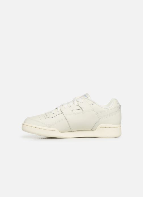 Baskets Reebok WORKOUT LO PLUS Beige vue face