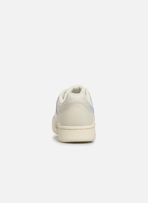 Sneaker Reebok WORKOUT LO PLUS beige ansicht von rechts