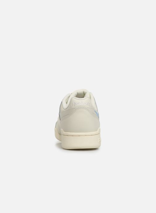 Baskets Reebok WORKOUT LO PLUS Beige vue droite