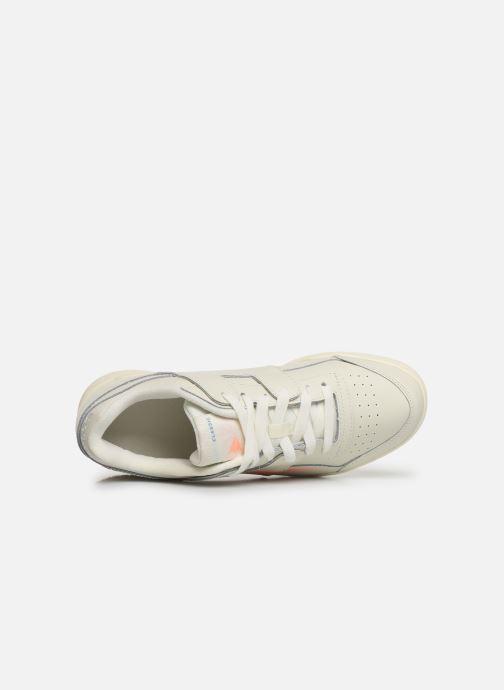 Sneaker Reebok WORKOUT LO PLUS beige ansicht von links