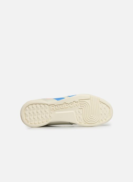 Baskets Reebok WORKOUT LO PLUS Beige vue haut