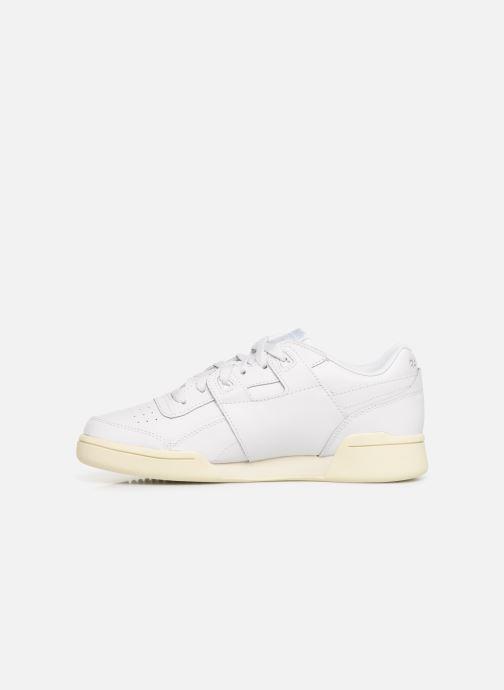 Sneakers Reebok WORKOUT LO PLUS Bianco immagine frontale