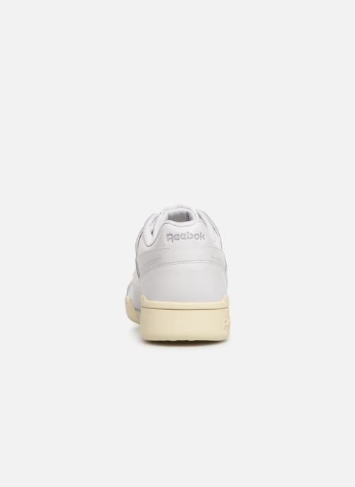 Sneakers Reebok WORKOUT LO PLUS Bianco immagine destra