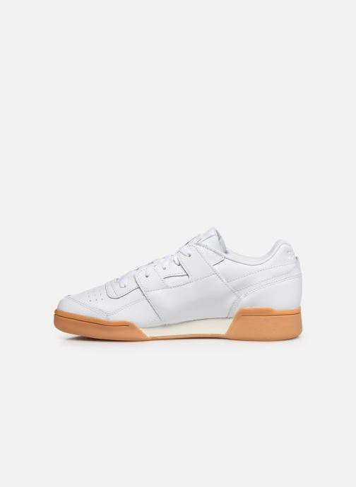 Sneakers Reebok WORKOUT LO PLUS Wit voorkant