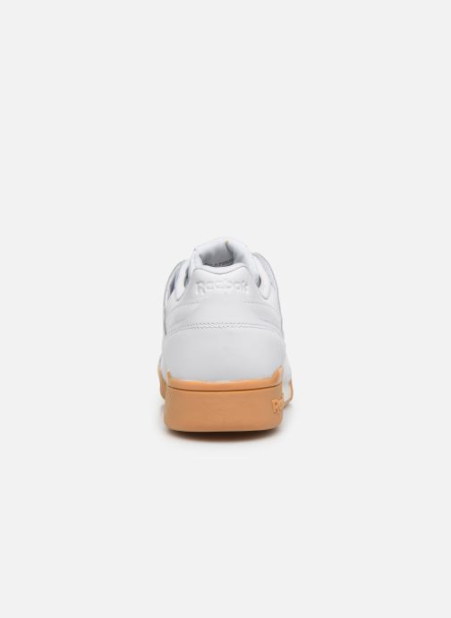 Sneaker Reebok WORKOUT LO PLUS weiß ansicht von rechts