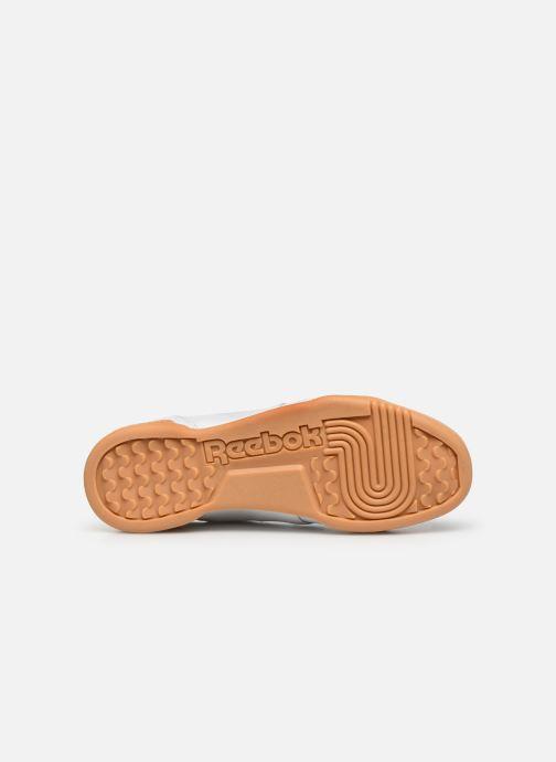 Sneaker Reebok WORKOUT LO PLUS weiß ansicht von oben