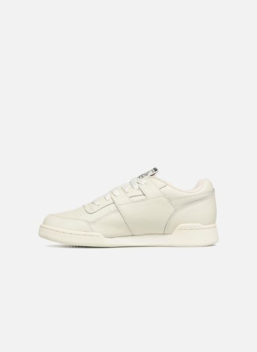 Baskets Reebok Workout Plus Mu Blanc vue face