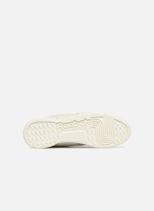 Baskets Reebok Workout Plus Mu Blanc vue haut