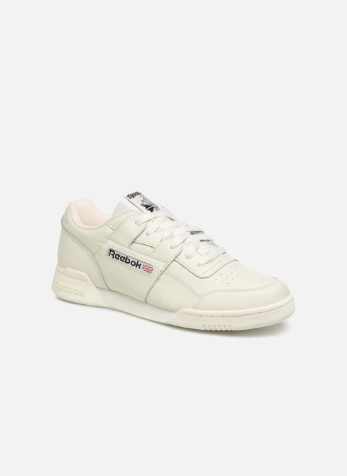 Baskets Reebok Workout Plus Mu Blanc vue détail/paire