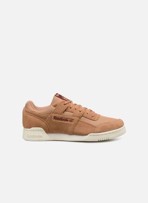Trainers Reebok Workout Plus Mu Brown back view
