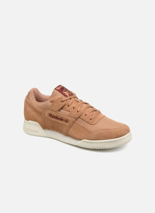 Trainers Reebok Workout Plus Mu Brown detailed view/ Pair view