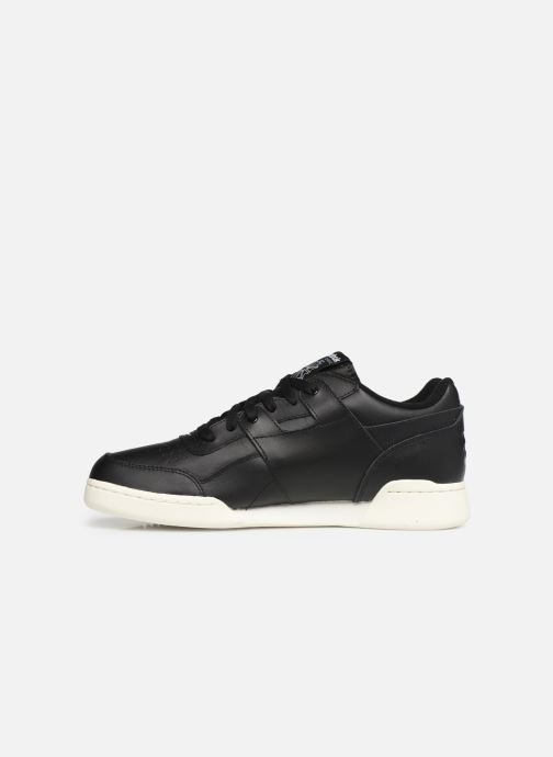 Deportivas Reebok Workout Plus Mu Negro vista de frente