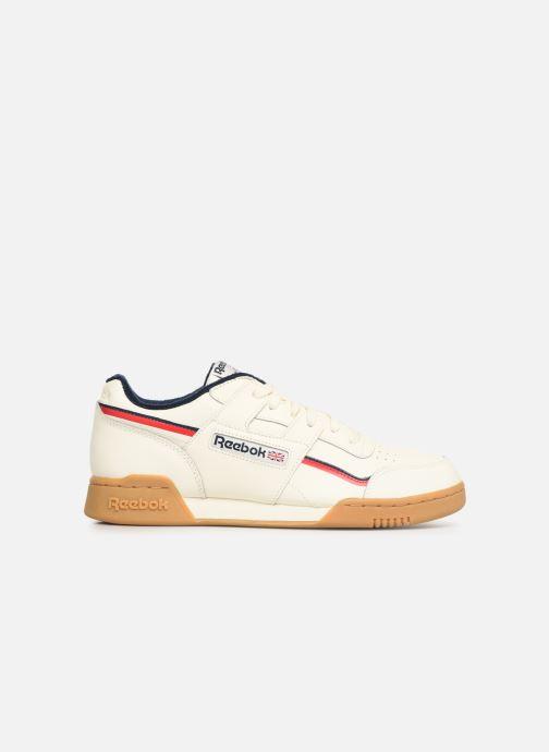 Baskets Reebok Workout Plus Mu Blanc vue derrière