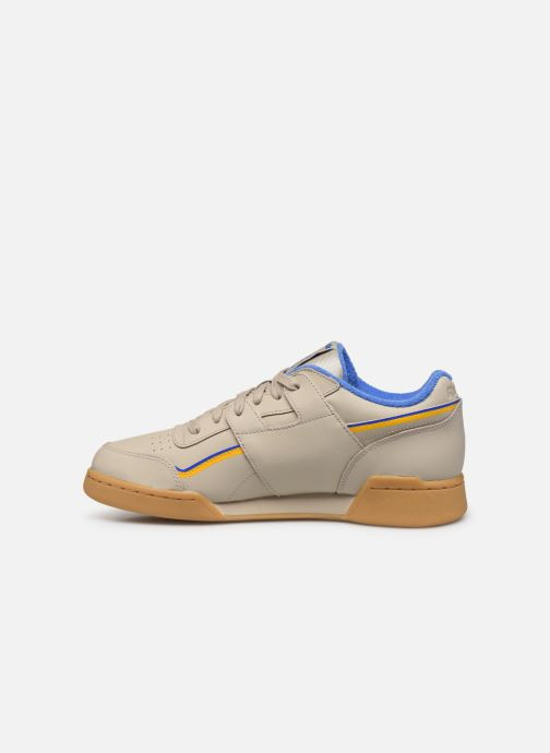 Sneakers Reebok Workout Plus Mu Beige voorkant