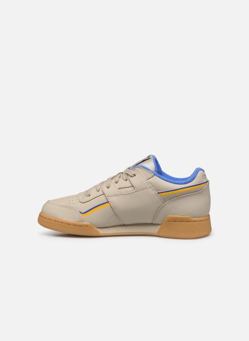 Sneakers Reebok Workout Plus Mu Beige voorkant