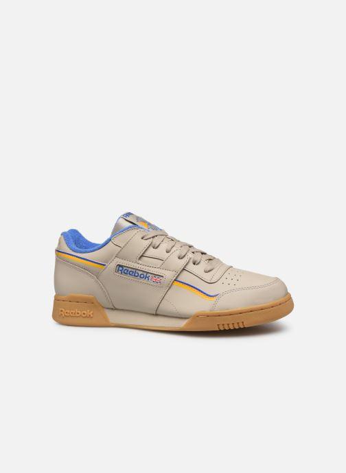 Sneaker Reebok Workout Plus Mu beige ansicht von hinten