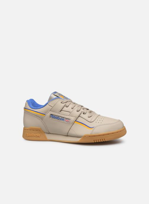 Sneakers Reebok Workout Plus Mu Beige achterkant